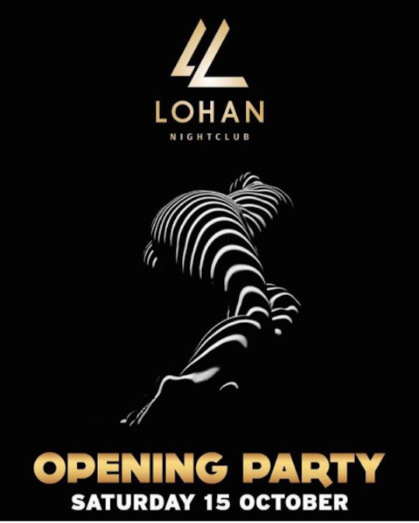 O convite da festa de inauguração da boate de Lindsay Lohan (Foto: Instagram)