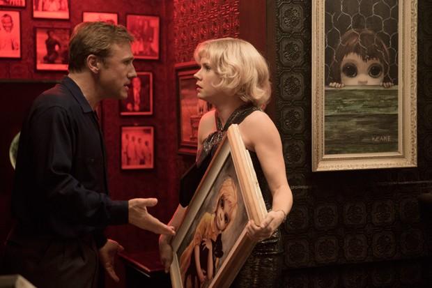 'Grandes Olhos': longa é estrelado por Christoph Waltz e Amy Adams (Foto: Divulgação)