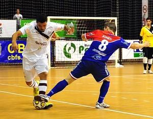 futsal, Orlândia x Lajeado (Foto: Ricardo Artifon / ACF)