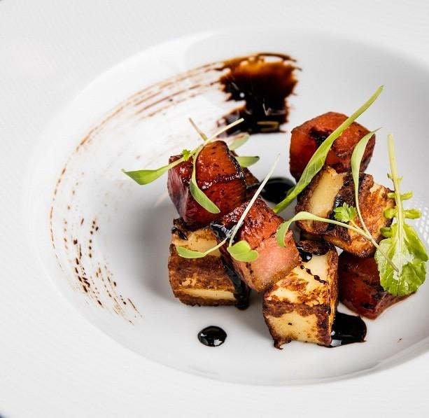 Salada de melancia grelhada é receita da apresentadora Bela Gil (Foto: Tomas Rangel)