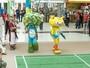 Mascotes dos Jogos Olímpicos  Rio 2016 desembarcam em Belém