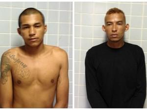 Homens são presos em Boa Vista  (Foto: Marcelo Marques/G1)
