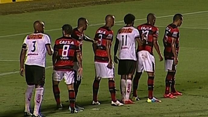 Atlético-GO x Oeste no Serra Dourada (Foto: Reprodução/SporTV)