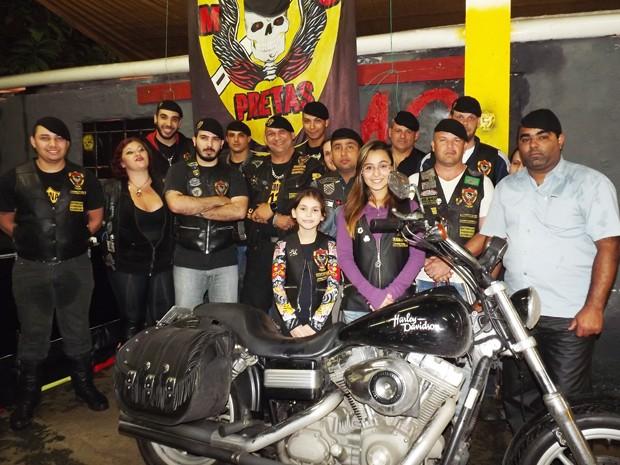 G1 - Motoclube  Boinas Pretas  leva para as estradas a ética e ... d17200df082