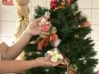 Feira de artesanato reúne decoração e presentes de Natal em Friburgo, RJ