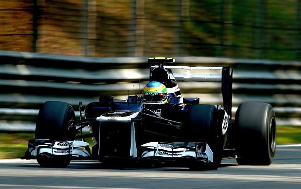 Bruno Senna treino Monza GP da Itália (Foto: Getty Images)