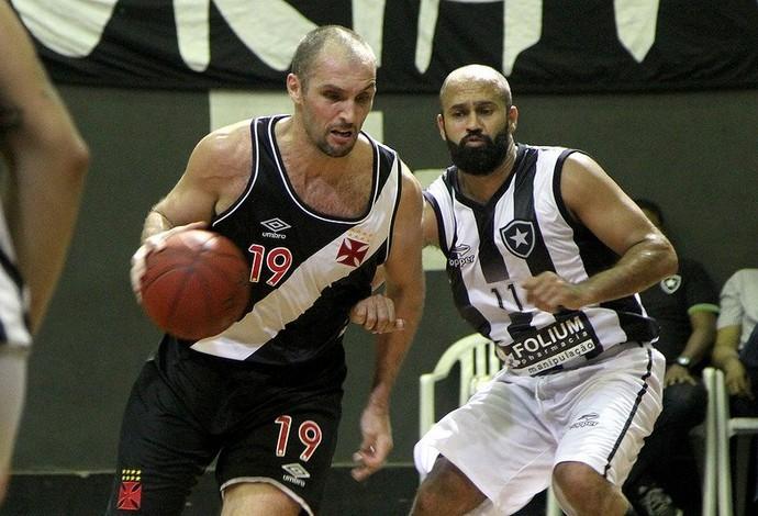 Vasco Botafogo Estadual basquete (Foto: Paulo Fernandes/Vasco)
