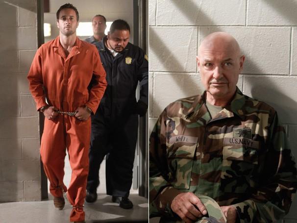 McGarrett recebe a visita de seu antigo instrutor na prisão (Foto: Divulgação / CBS)