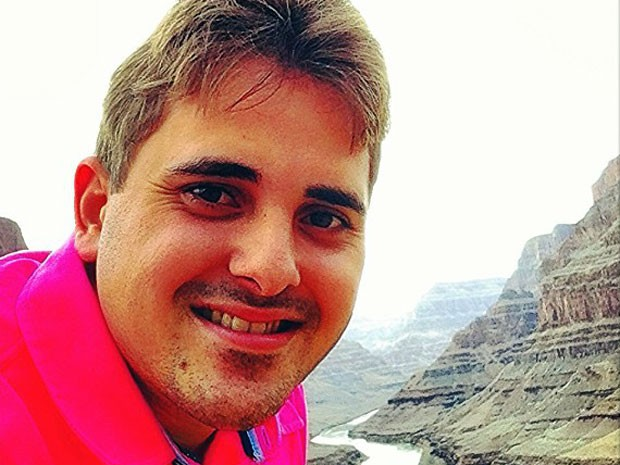 Fábio Porcino foi sequestrado em Mossoró nesta segunda (10)  (Foto: Arquivo da família)
