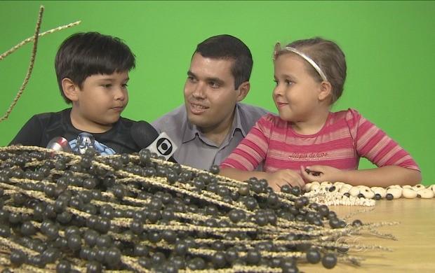 Amazonas TV acompanha gravações e mostra making of (Foto: Amazonas TV)