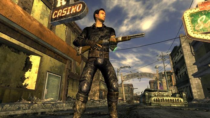 Fallout: New Vegas leva jogadores para uma nova Las Vegas pós-apocalíptica na retrocompatibilidade do Xbox One com Xbox 360 (Foto: Reprodução/GameInformer)