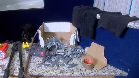Polícia prende nove suspeitos de dez assaltos e explosões a bancos em PE