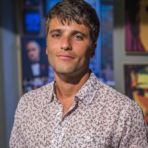 Bruno Gagliasso, o Murilo de Babilônia (Foto: Alex Carvalho/TV Globo)