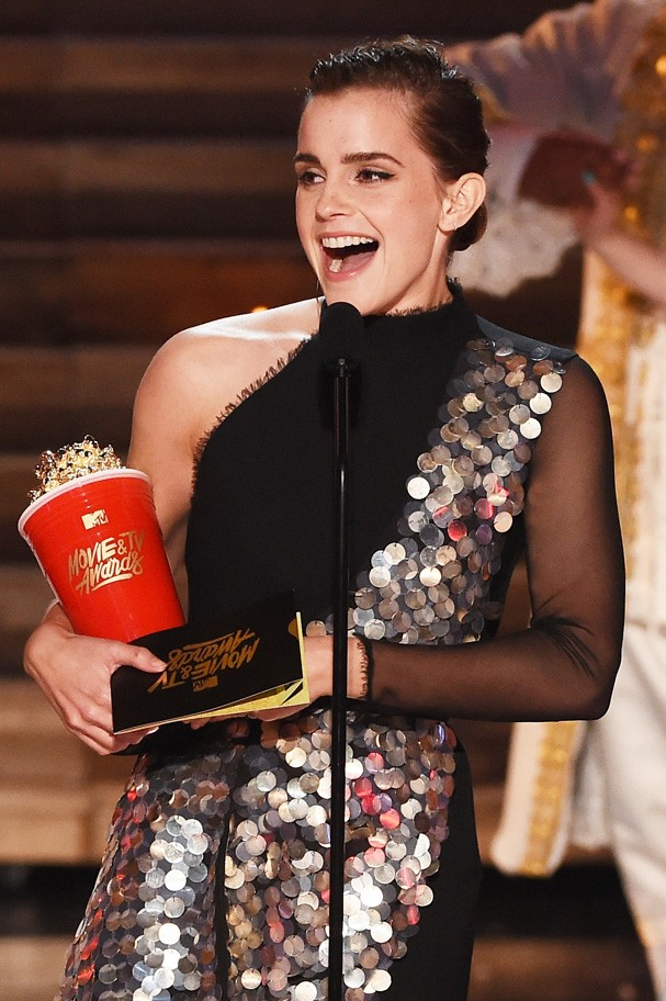 Emma Watson no MTV Movie Awards (Foto: Getty Images)