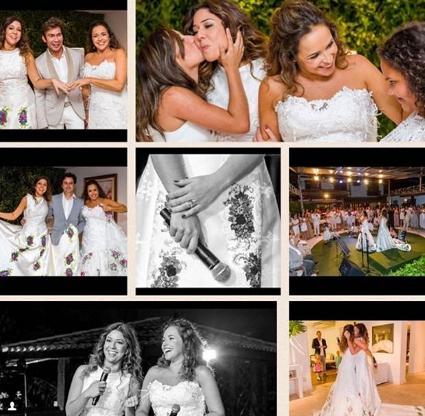 Montagem do casamento (Foto: Reprodução)