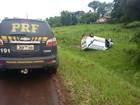 Ambulância capota e deixa cinco feridos em Roque Gonzales, RS