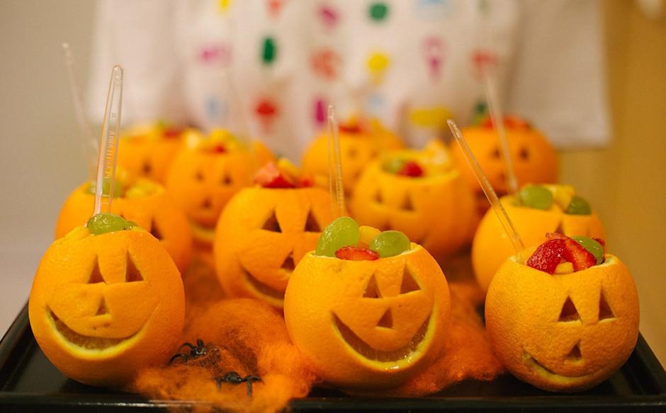 Decoracao De Festa Infantil Tema Halloween.Festa Infantil Com O Tema Halloween No Fazendo A Festa Fazendo