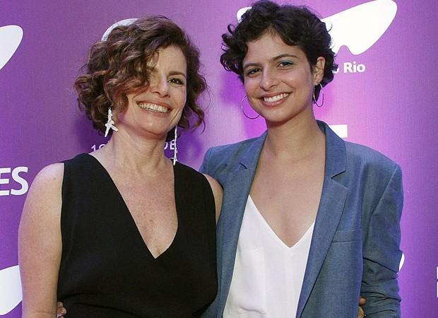 Débora Bloch e a filha, Julia Anquier (Foto: Marcos Ferreira/Brazil News)