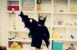 Fantasia infantil de morcego para o seu filho pular o Carnaval!