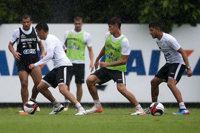 Santos se prepara para Campeonato Paulista (Foto: Ivan Storti/Santos FC)