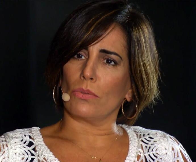 Gloria Pires no Ofício em Cena (Foto: Reprodução)