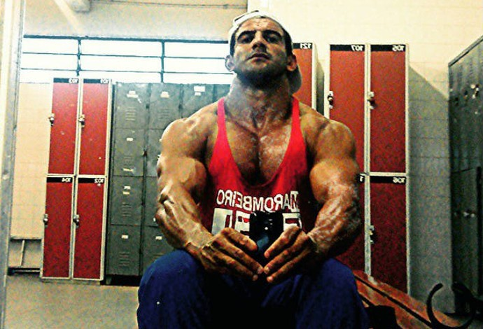 Rufino fez fisiculturismo e fortaleceu os braços, ajudando na paracanoagem (Foto: Reprodução / Instagram)