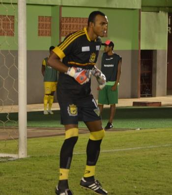 Máximo, goleiro do Galvez (Foto: Murilo Lima)