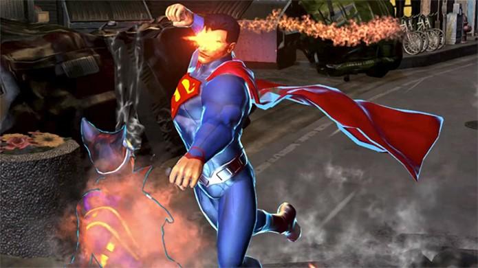 Infinite Crisis traz Super Homem e outros heróis da DC em um MOBA no estilo de League of Legends (Foto: Reprodução/GameTrailers)
