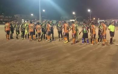 Valência venceu o Tapajós por 3 a 0 nas semis pela etapa urbana da Copa dos Campeões (Foto: Divulgação/ Semjel)