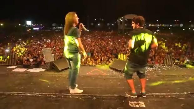 Caio Castro e Wesley Safadão (Foto: Fred Pontes/Divulgação)