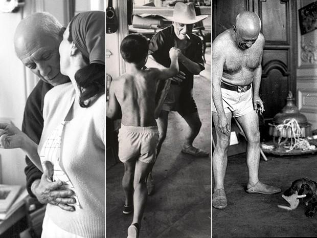 Picasso, em séries de fotografias realizadas por David Douglas Duncan (Foto: Harry Hansom Center/Divulgação)