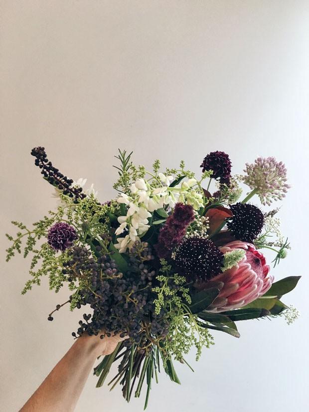 Flor de alho: sim, ela existe e é linda! (Foto: Flor Atelier Botânico)