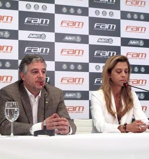 Coletiva Paulo Nobre Presidente do Palmeiras  (Foto: Rodrigo Faber)
