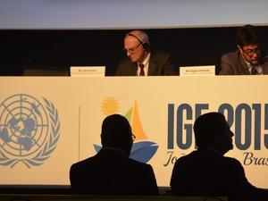 O Fórum de Governança da Internet (IGF 2015) é promovido pela Organização das Nações Unidas (ONU) (Foto: Diogo Almeida/G1)