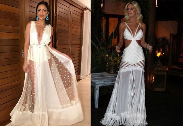 Luciana Tranchesi e Lala Rudge vestem criações de Elisa Lima (Foto: Reprodução Instagram)