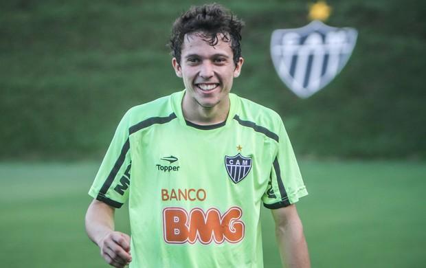 Meia Bernard, do Atlético-MG (Foto: Bruno Cantini / Flickr do Galo)