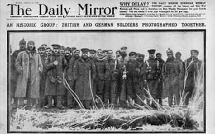 Daily Mirror jornal primeira guerra (Foto: Reprodução)