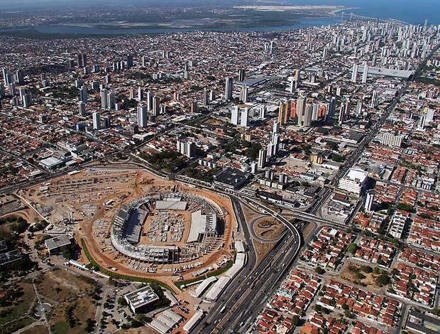 Arena das Dunas fica localizada em área central de Natal (Foto: Canindé Soares/Cedida)