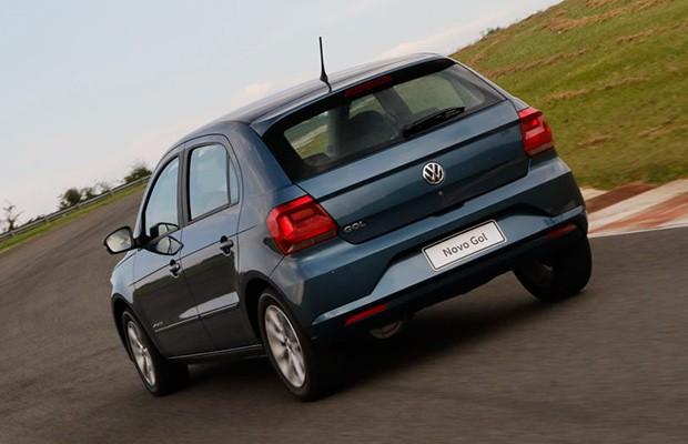A dinâmica do Volkswagen Gol continua a ser previsível e envolvente  (Foto: Marcelo Spatafora/Autoesporte)