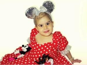 Criança Ana Cecília consegue transplante pelo SUS (Foto: Arquivo pessoal)