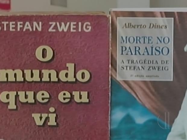 Obras do autor inspiraram roteiro do filme O Grande Hotel Budapeste (Foto: Reprodução / Inter TV)