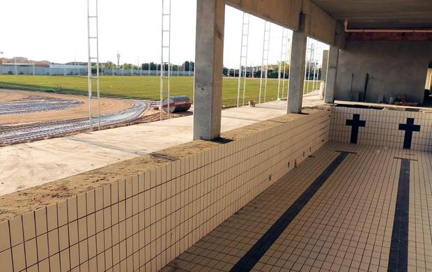 Após o gramado, Centro de Treinamentos da Arena do Grêmio receberá cercamento (Foto: Divulgação)