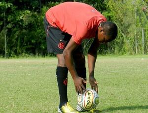 Renato Abreu treino Flamengo (Foto: Raphael Bózeo)
