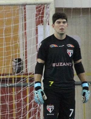 Pezão Suzano Futsal (Foto: Thiago Fidelix)