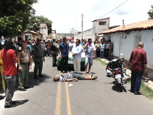 Policial disse que Luiz Soares de Oliveira não se conformava com a separação (Foto: Heraldo Freitas)