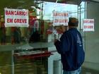 Greve dos bancários completa 1 semana com adesão de mais de 70%