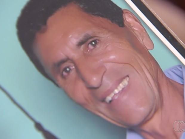 João José de Sousa está desaparecido desde 26 de dezembro Goiás Goiânia (Foto: Reprodução/TV Anhanguera)