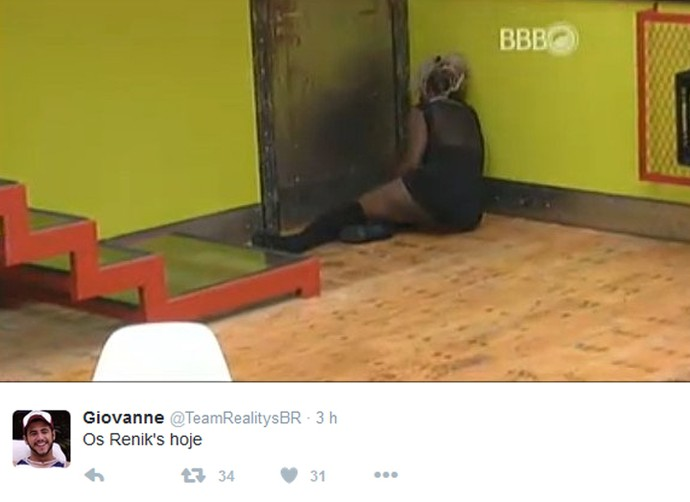 Twitter 2 madrugada 28_01 (Foto: TV Globo)