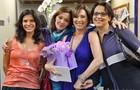 Julia Lemmertz, Helena Ranaldi, Natália do Vale e Ana Beatriz Nogueira posam para as lentes do Gshow (Foto: Carol Caminha/ TV Globo)