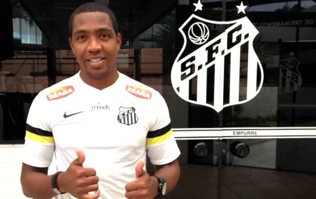 Renato Abreu, Santos (Foto: Vinícius Vieira / Divulgação Santos FC)